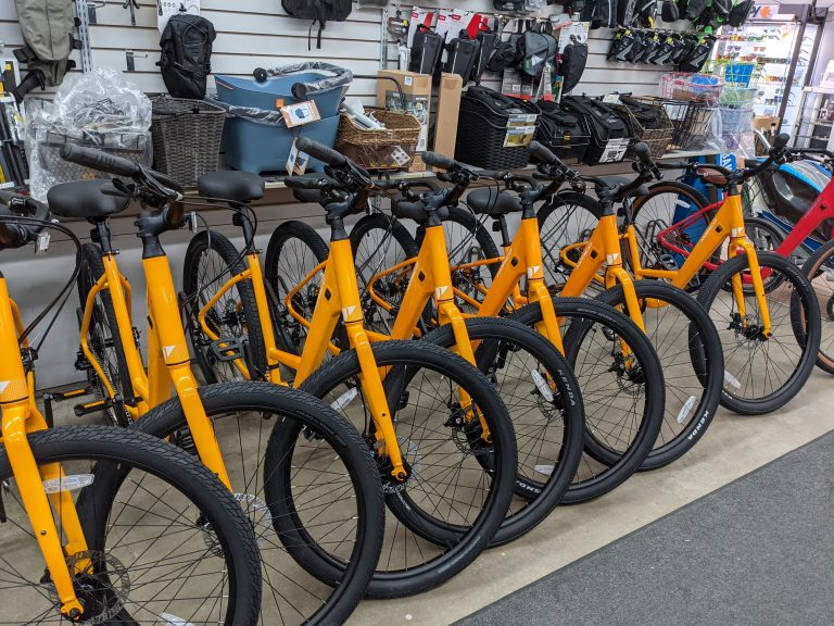 Edgewater Crystal View Bicycles for Rent